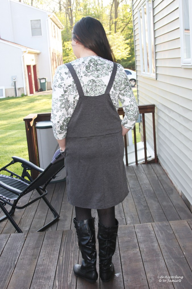 Grey Pinafore 3