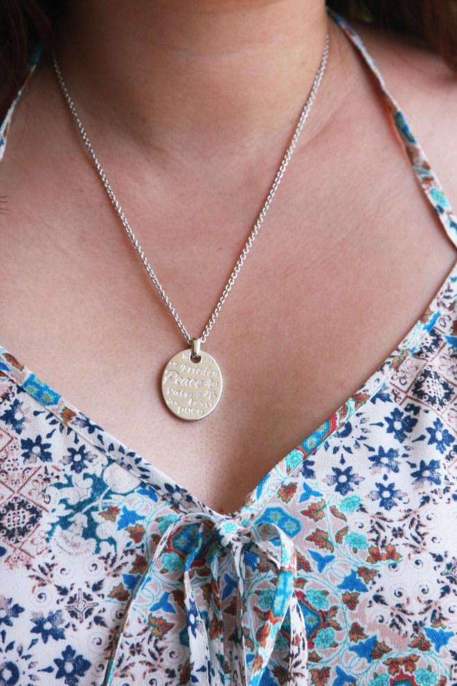 Modern Design Inc - Peace Necklace 1