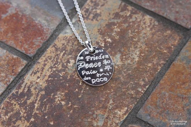 Modern Design Inc - Peace Necklace 2