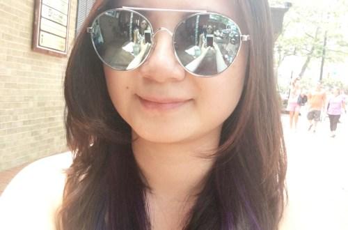Purple Underlayer Hair