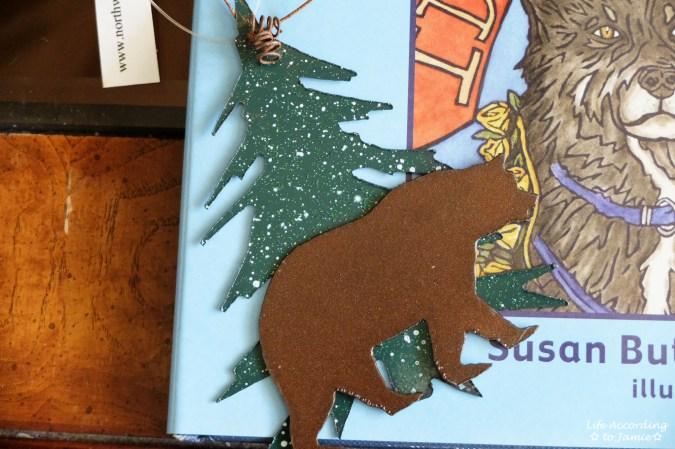 Alaska Bear Christmas Ornament