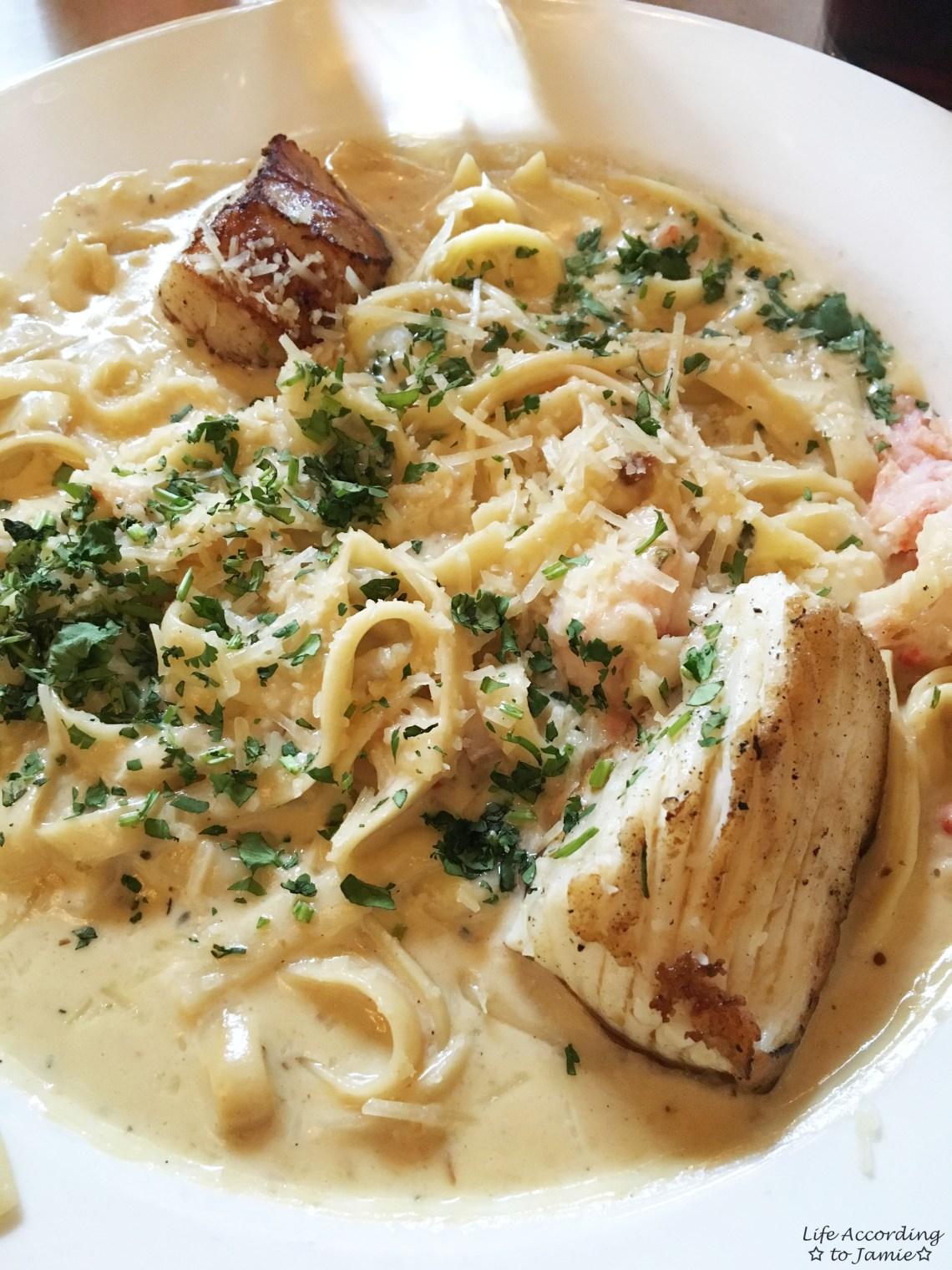 Alaskan Seafood Pasta