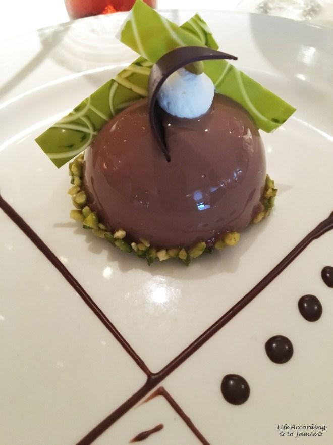 Chocolate Journey- Chocolate Pistachio Dome