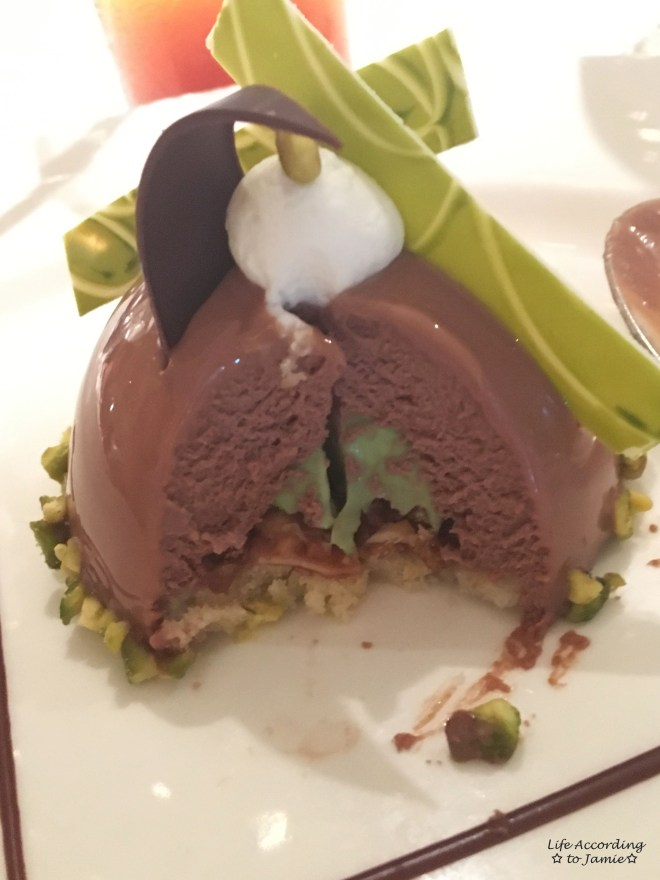 Chocolate Journeys- Chocolate Pistachio Dome 1