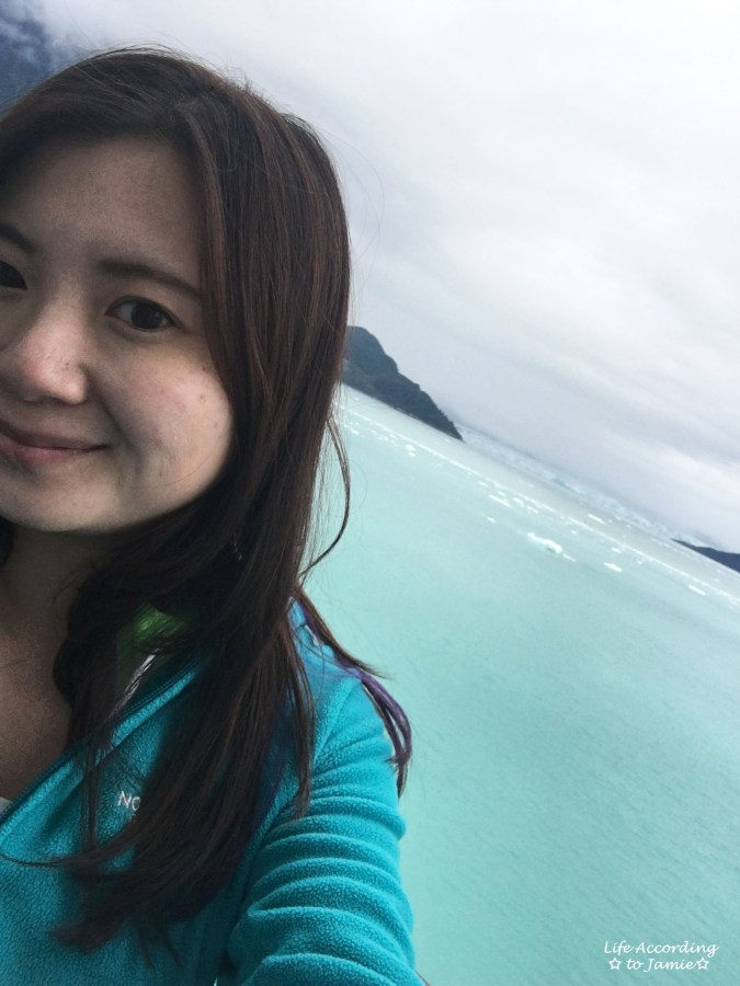 Hubbard Glacier Selfie