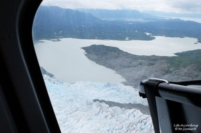 Leaving Mendenhall Glacier
