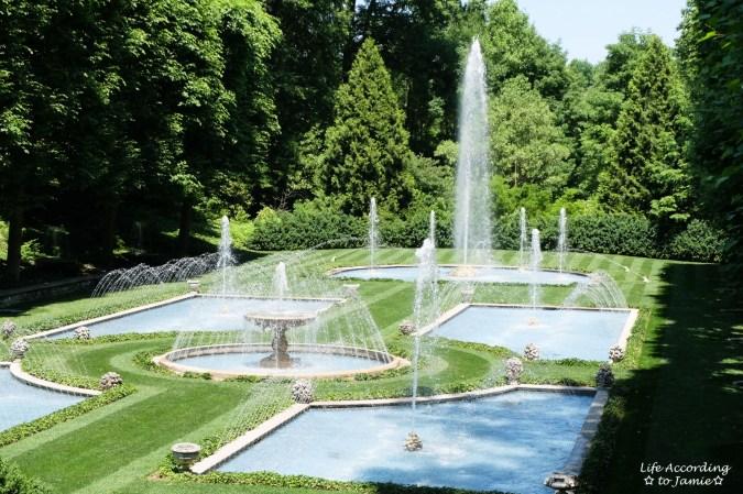 Longwood Gardens - Fountains