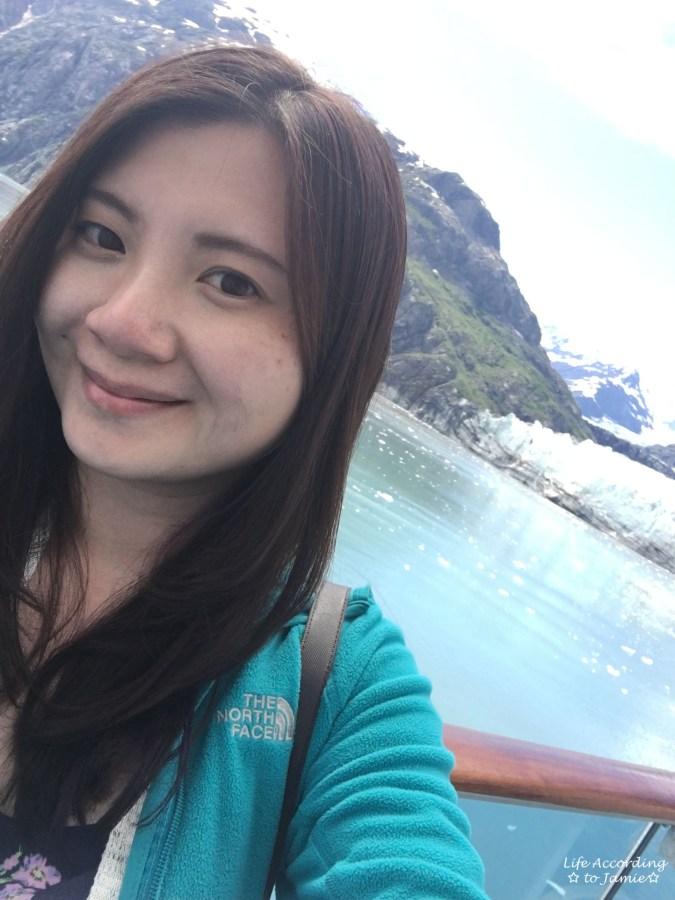 Margerie Glacier Selfie
