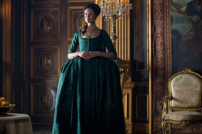 Outlander-green dress