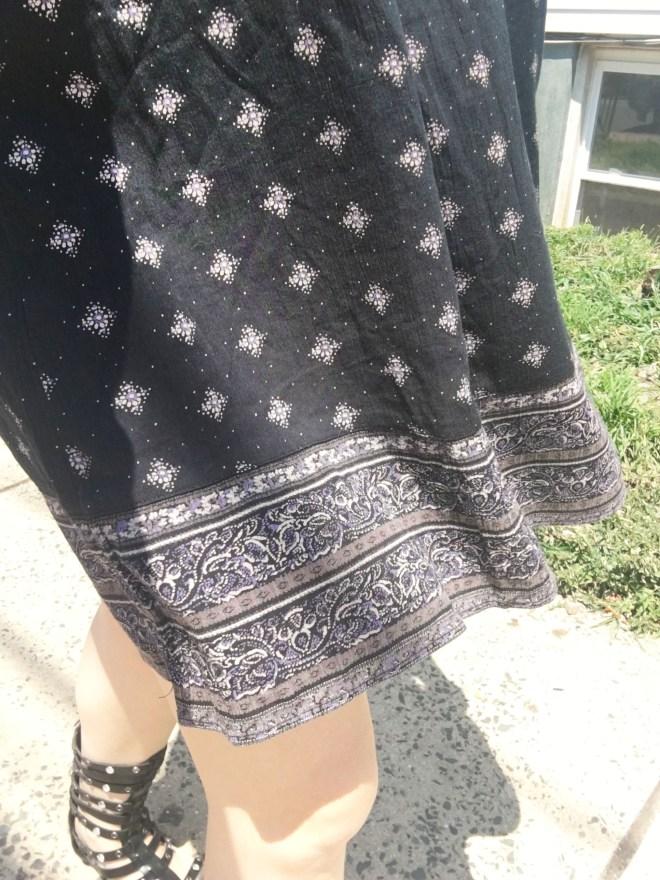Patterned Dress 1