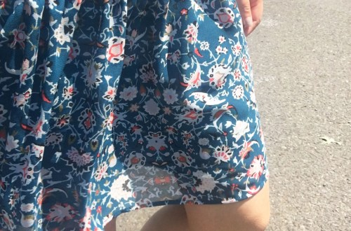 Floral Smocked Babydoll Dress