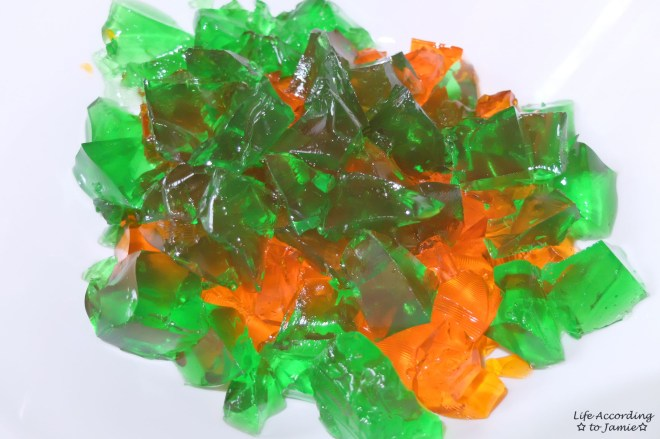 Green & Orange Jell-O