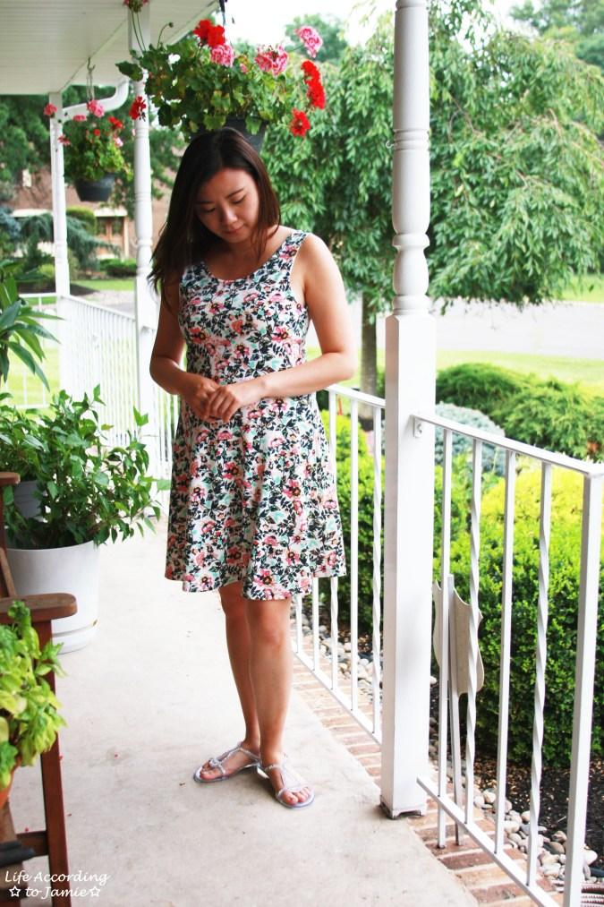 H&M Floral Dress 1