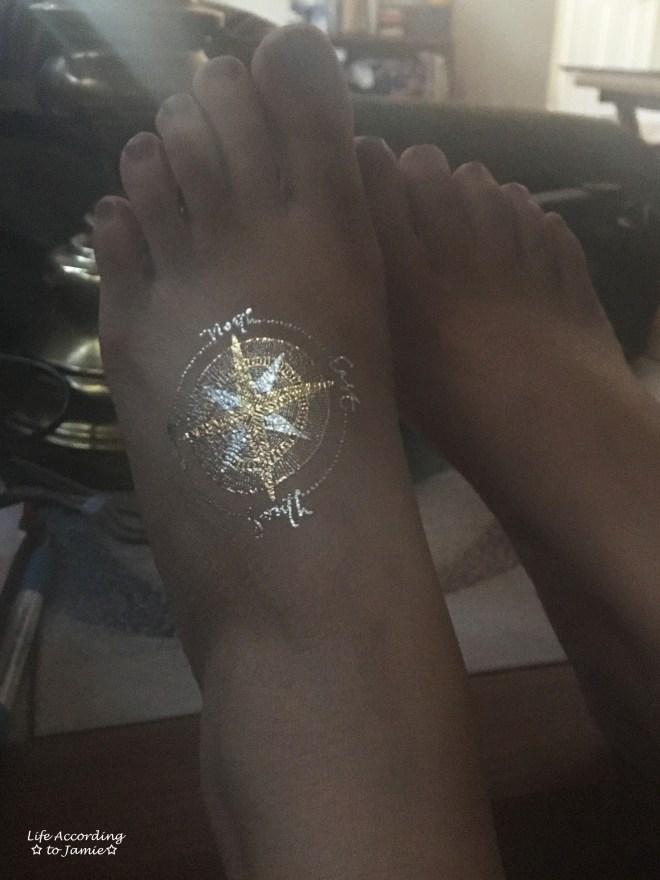 Compass Flash Tattoo 1
