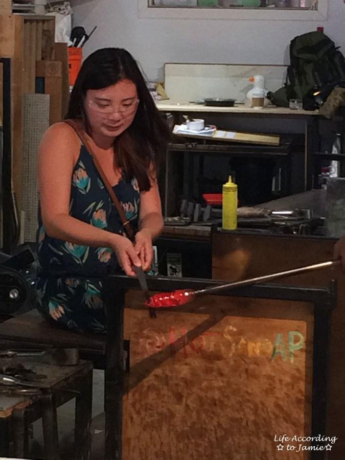 Hot Sand - Glassblowing 1