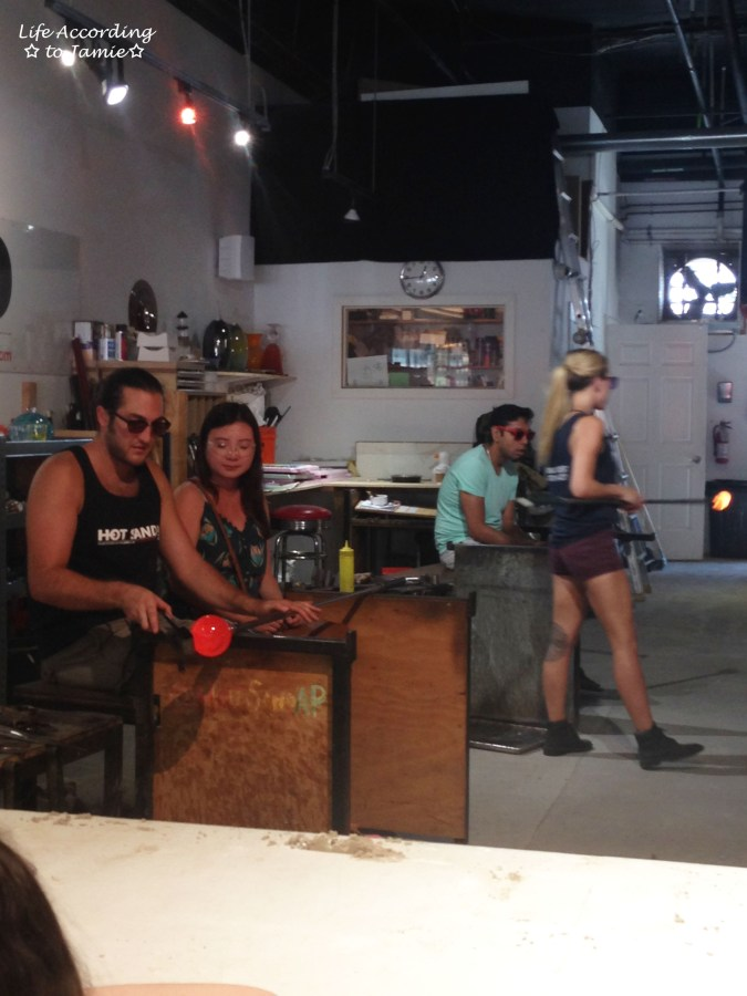 Hot Sand - Glassblowing 3