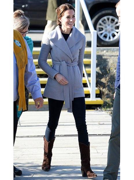 The Duke and Duchess of Cambridge visit Carcross