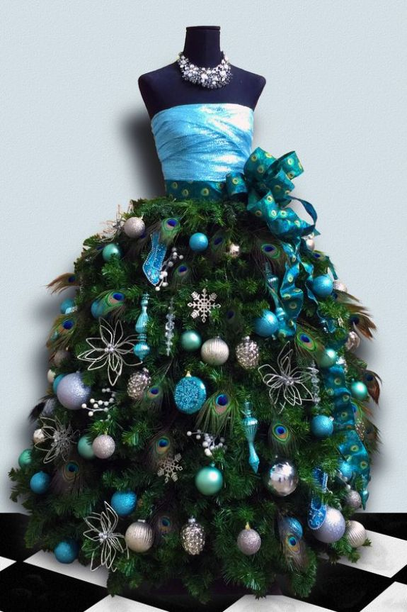 blue-mannequin-christmas-tree-dress