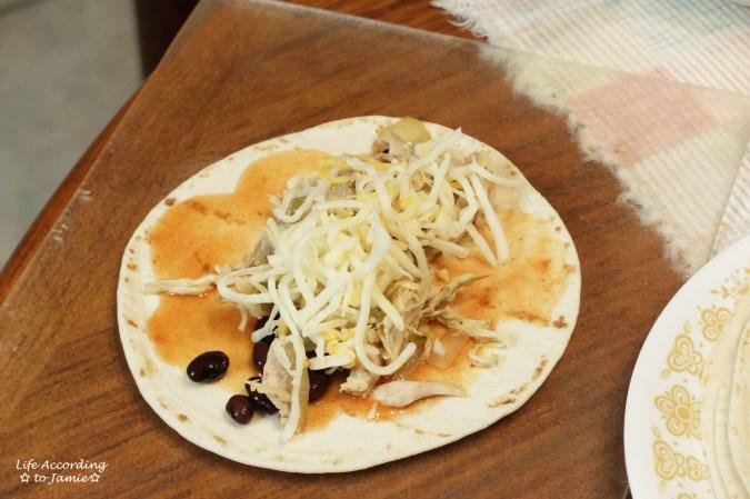 enchilada-filling