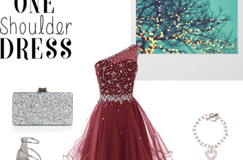 one-shoulder-party-dress