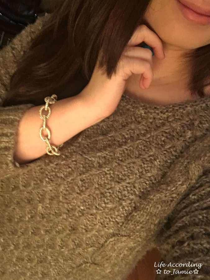 taupe-dolman-sleeve-sweater-chain-link-bracelet