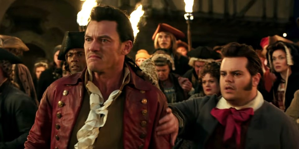 Beauty-and-the-Beast-Trailer-Luke-Evans-as-Gaston-and-Josh-Gad-as-LeFou