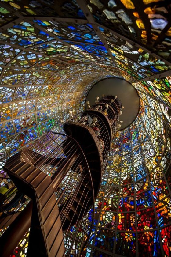 Kanagawa Japan - Spiral Staircase