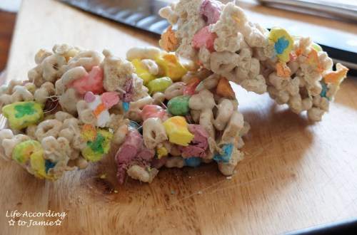 Lucky Charms Crispy Treats