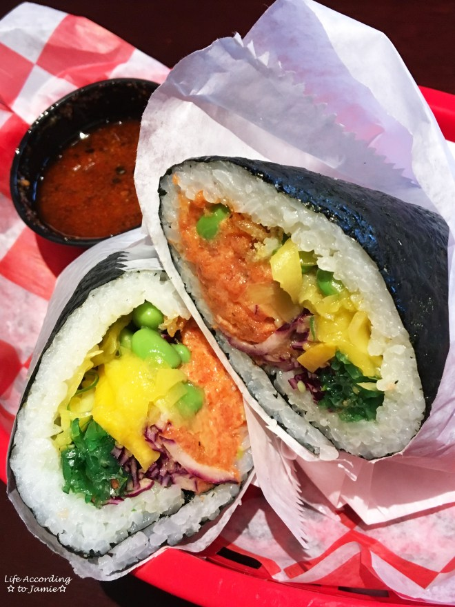Spicy Tuna Sushi Burrito 1