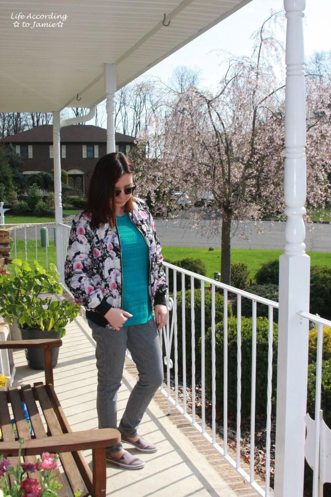 Floral Bomber Jacket 2