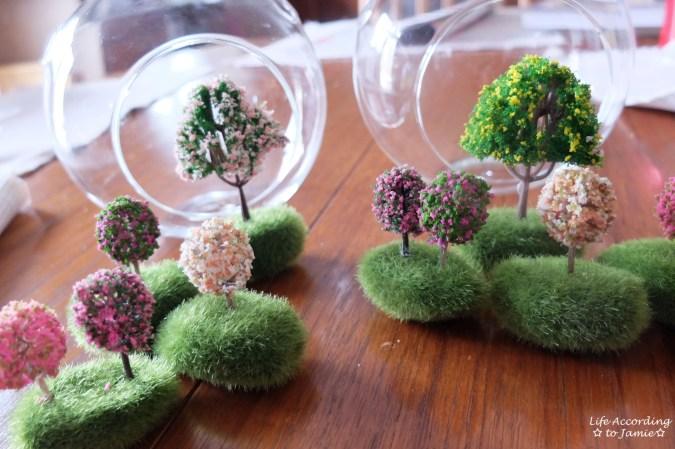 Mini Flowering Tree Craft