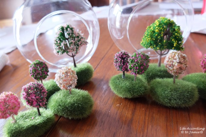 Mini Flowering Tree Craft