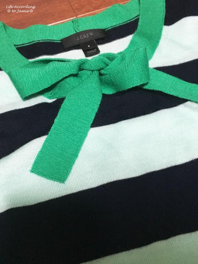 Mint + Navy Neck Tie Shirt 1