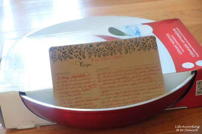 Bialetti Frying Pan + Recipe Card