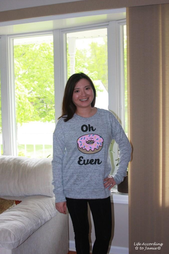 Donut Sweatshirt 2