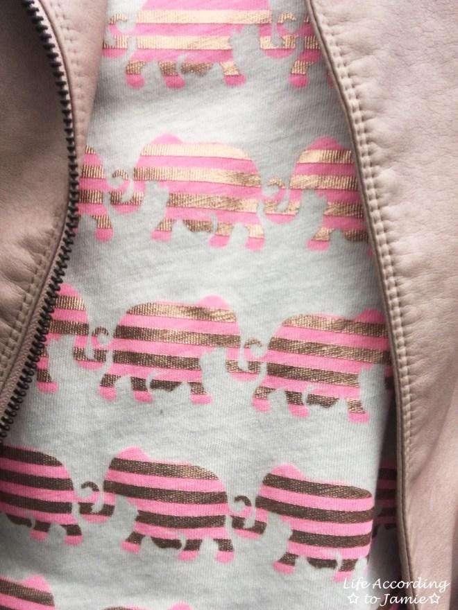 Pink Elephants Graphic Tee 7