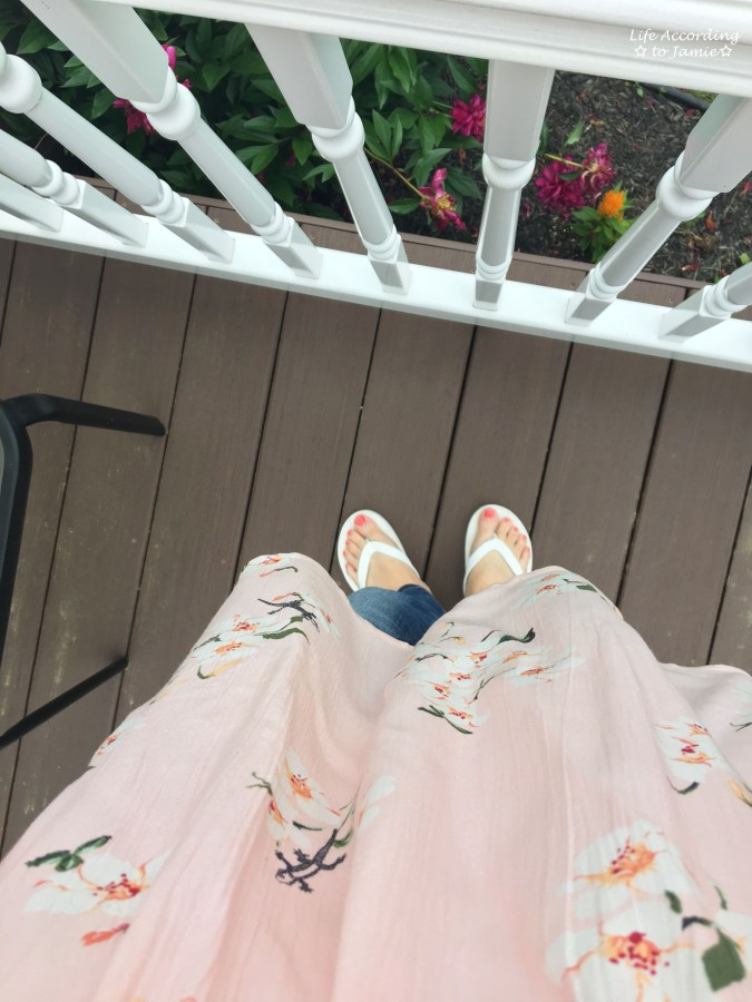 Pink Floral OTS 7