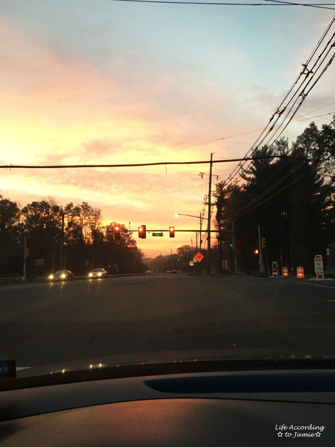 Sunset - Stoplight