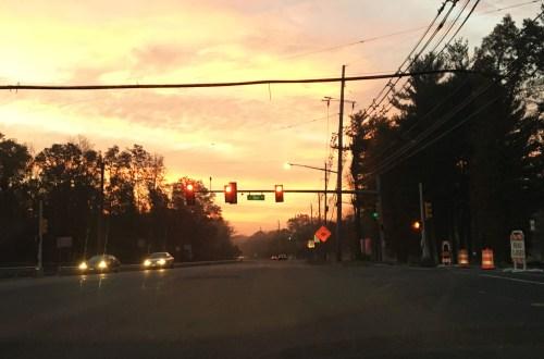 Sunset - Stoplight
