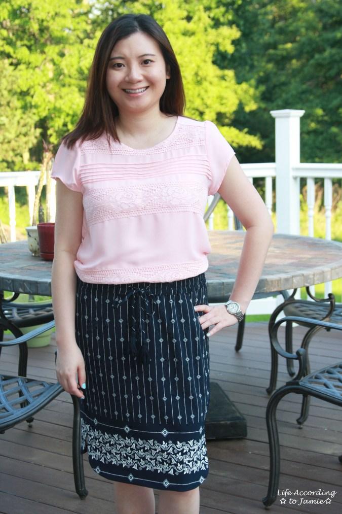 Diamante Pencil Skirt 2