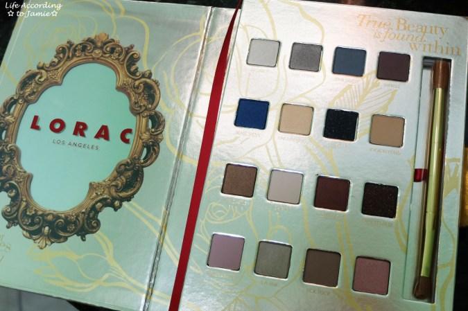 Lorac - Beauty & the Beast Eye Shadow Palette 1