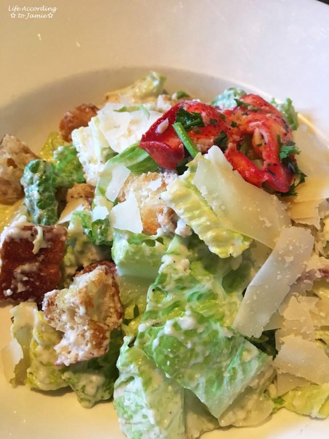 Martha's Vineyard Chowder House - Bacon Caesar Salad