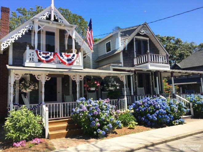 Martha's Vineyard - Oak Bluffs houses