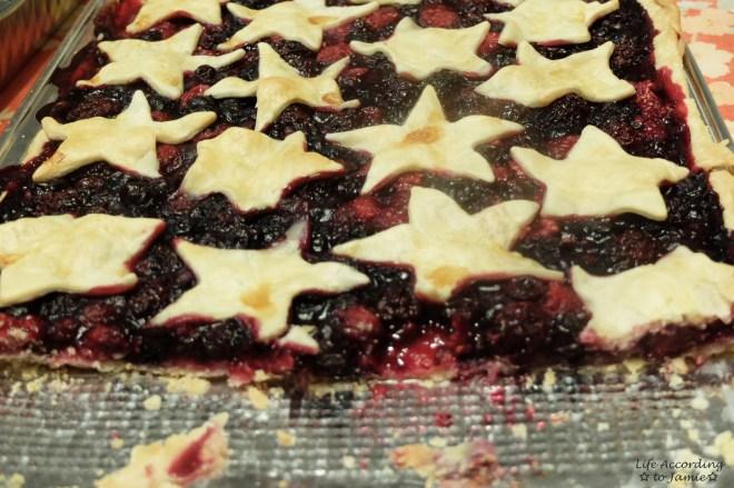 Mixed Berry Slab Pie 6