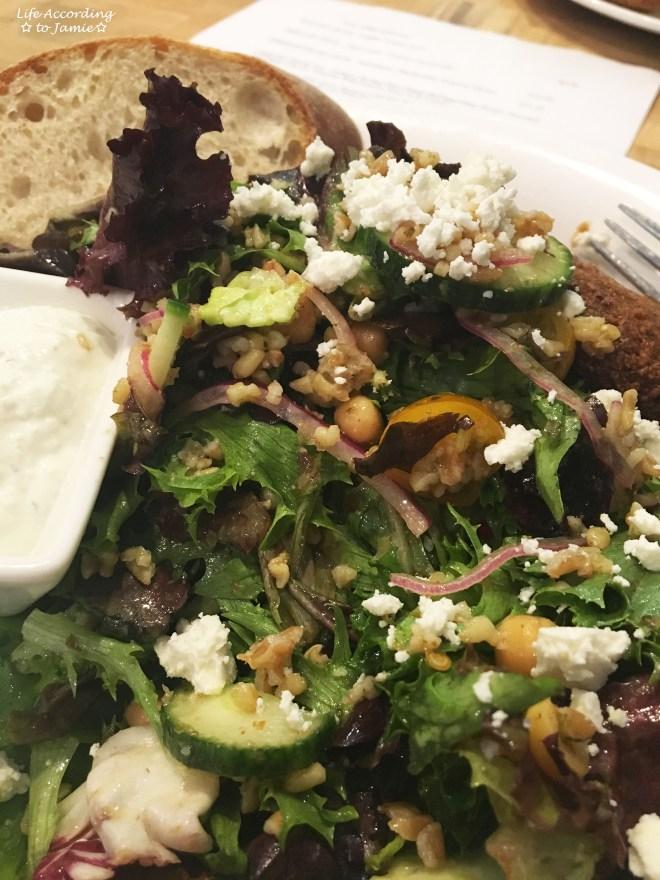 Pain d'Avignon - Falafel Salad 1