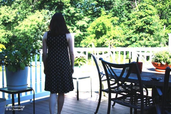 Patterned Swing Dress