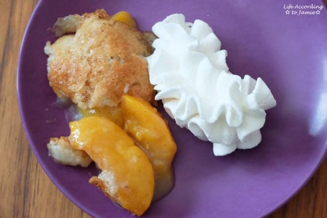 Peach Cobbler 1