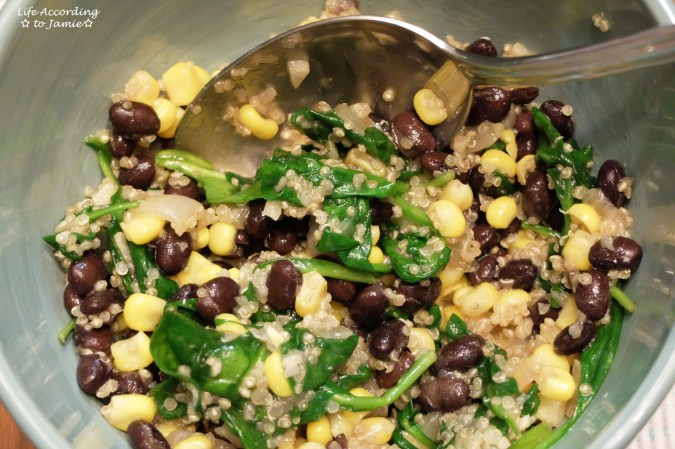 Quinoa Spinach Salad 3
