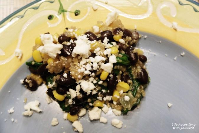 Quinoa Spinach Salad 4