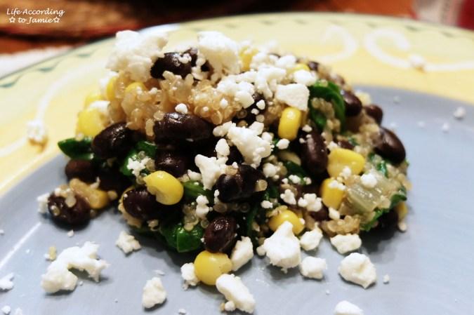 Quinoa Spinach Salad 5